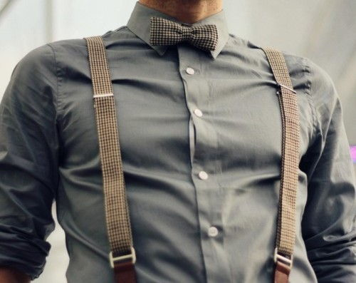 Why do I all of a sudden want to take the suspenders off this man Pinterest is not good for my libido.