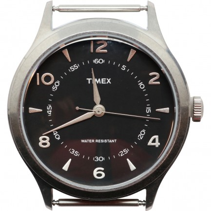 RELOJ WHITNEY VILLAGE-STEEL-BLACK DIAL- TIMEX ARCHIVE