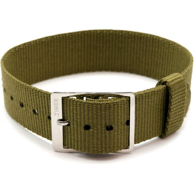 CORREA 18MM MILITARY GROSGRAIN TIMEX ARCHIVE