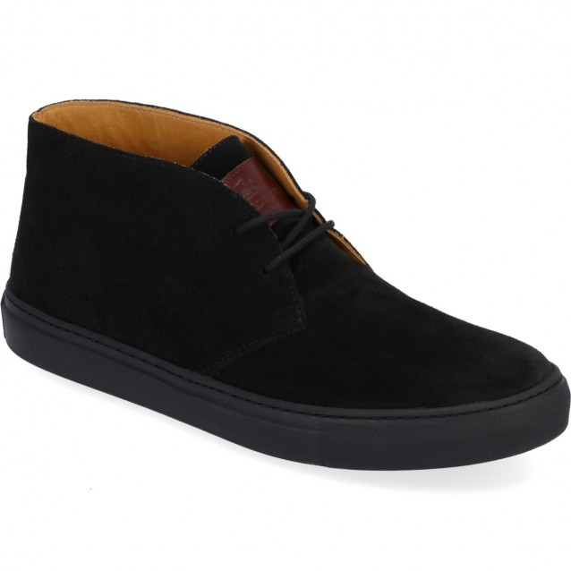 LUDWIG REITER SUEDE SNEAKER BOOTS