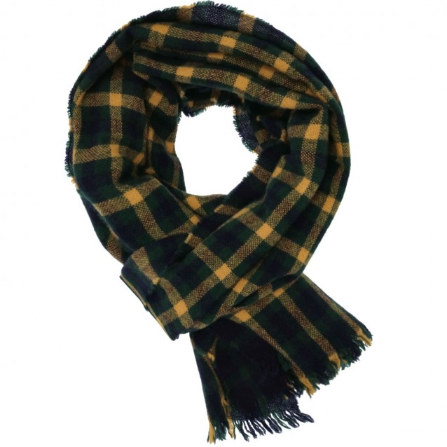 DRAKE'S LAMBSWOOL/CASHMERE SCARF
